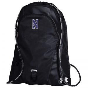 Northwestern University Wildcats Under Armour Undeniable Black Sack Pack UF19