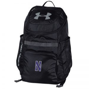 Northwestern University Wildcats Under Armour UA Storm Undeniable III Black Backpack