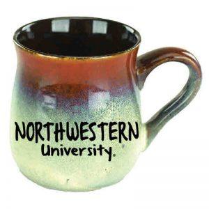 Northwestern University Wildcats 26 oz. Rust/Beige Sioux Falls Ceramic Tavern Mug