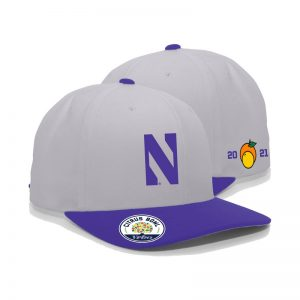Northwestern University Wildcats Citrus Bowl 2021 Adjustable Hat