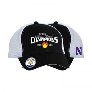 Northwestern University Wildcats Citrus Bowl 2021 Champions Official Locker Room Hat