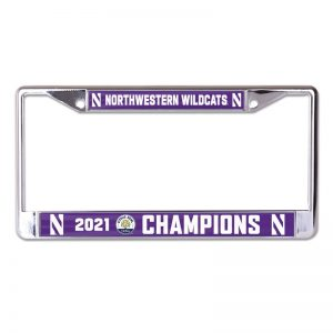 Northwestern University Wildcats Citrus Bowl 2021 Champions License Plate Frames