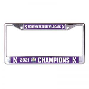 Northwestern University Wildcats Citrus Bowl 2021 Champions License Plate Frames