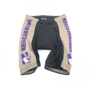 Northwestern University Wildcats Cycling Short