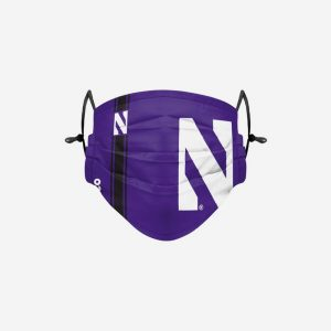 Northwestern Wildcats On-Field Sideline Logo Face Cover-1