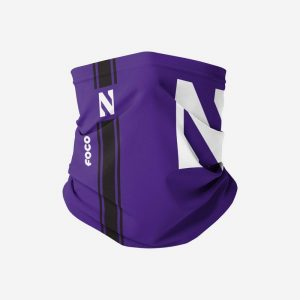Northwestern Wildcats On-Field Sideline Logo Gaiter Scarf