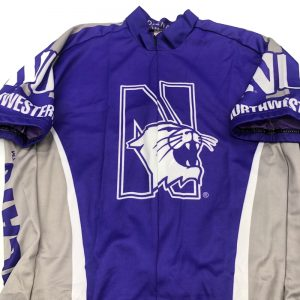 Northwestern University Wildcats Cycling Jersey-1