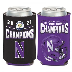 Northwestern University Wildcats Citrus Bowl 2021 Champions 12 oz. Can Coolers