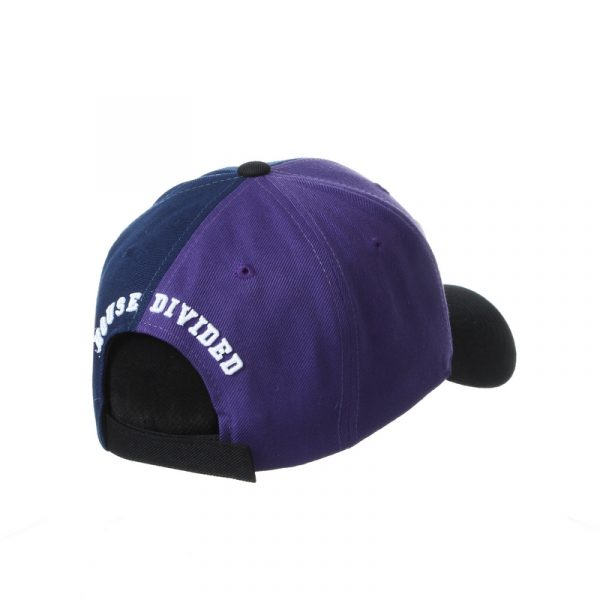 Northwestern University Wildcats House Divided Hat with Virginia Cavaliers-120 Right