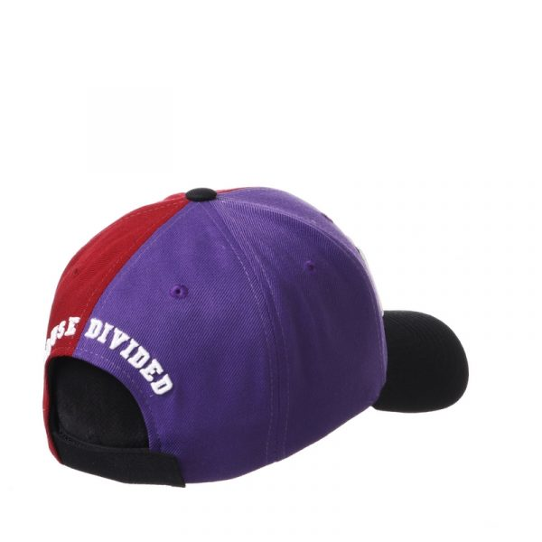 Northwestern University Wildcats House Divided Hat with Arkansas Razorbacks-3