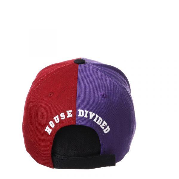 Northwestern University Wildcats House Divided Hat with Arkansas Razorbacks-4