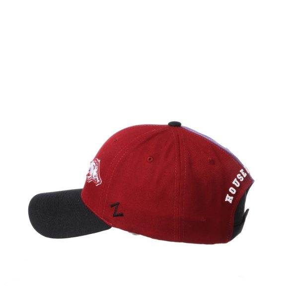 Northwestern University Wildcats House Divided Hat with Arkansas Razorbacks-6