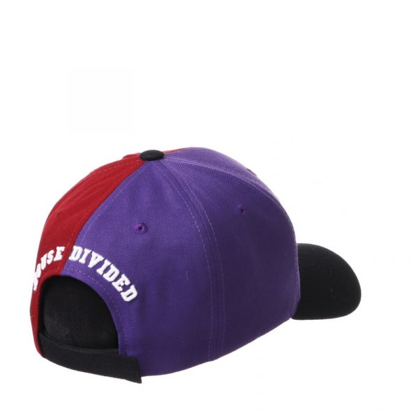 Northwestern University Wildcats House Divided Hat with Boston College Eagles-3