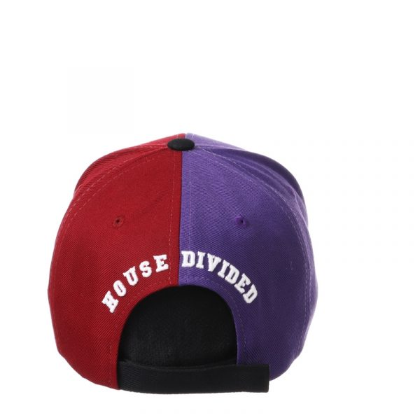 Northwestern University Wildcats House Divided Hat with Boston College Eagles-4
