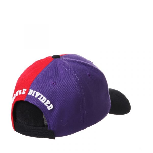Northwestern University Wildcats House Divided Hat with Boston University Terriers-3