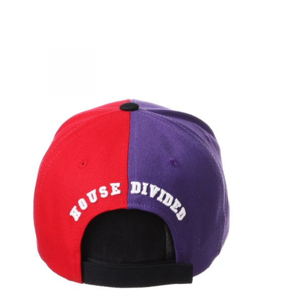 Northwestern University Wildcats House Divided Hat with Boston University Terriers-4