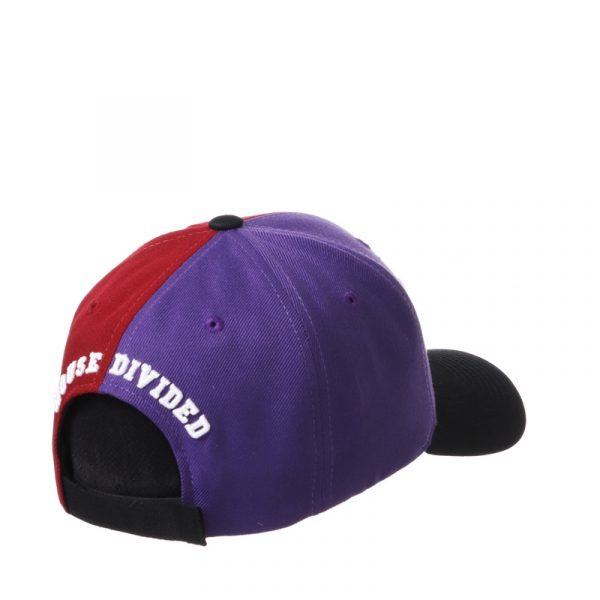 Northwestern University Wildcats House Divided Hat with Florida State Seminoles -3