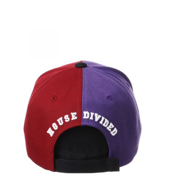Northwestern University Wildcats House Divided Hat with Florida State Seminoles -4