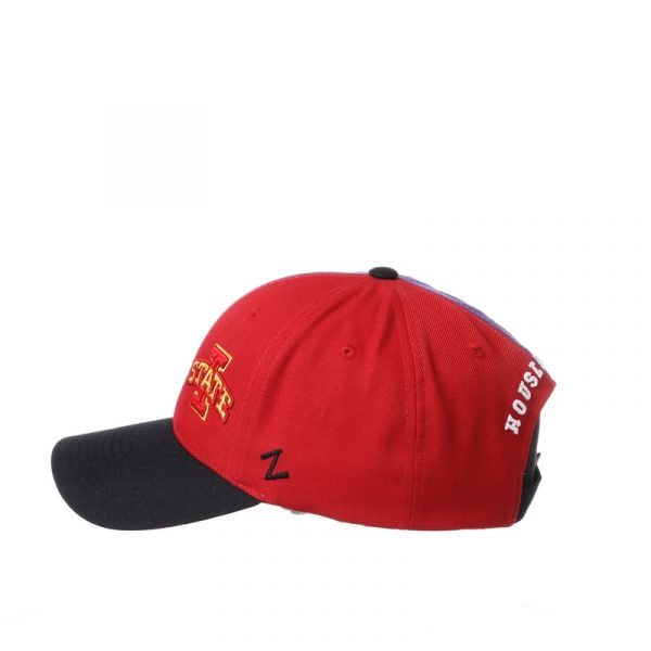 Northwestern University Wildcats House Divided Hat with Iowa State Cyclones-6