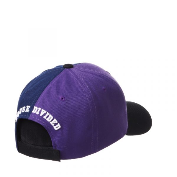 Northwestern University Wildcats House Divided Hat with Marquette Golden Eagles-3
