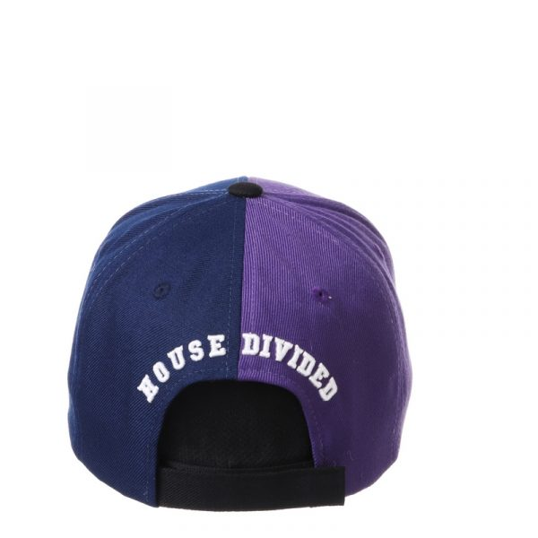 Northwestern University Wildcats House Divided Hat with Marquette Golden Eagles-4