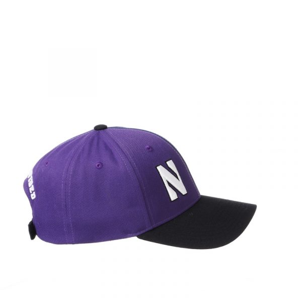 Northwestern University Wildcats House Divided Hat with Marquette Golden Eagles-7