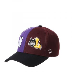 Northwestern University Wildcats House Divided Hat with Loyola Chicago Ramblers